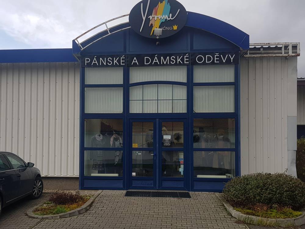Prodejna Yvonne König na Brněnské v Moravské Třebové